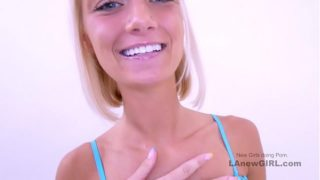 Pretty Blondie Sucks Cock and Gets Fucked at Modeling Audition